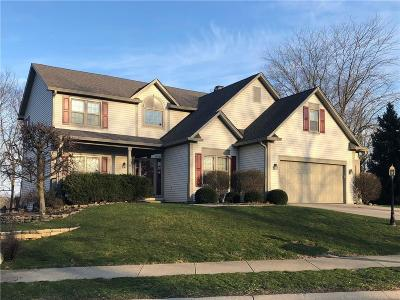Fishers Single Family Home For Sale: 11107 Knightsbridge Lane