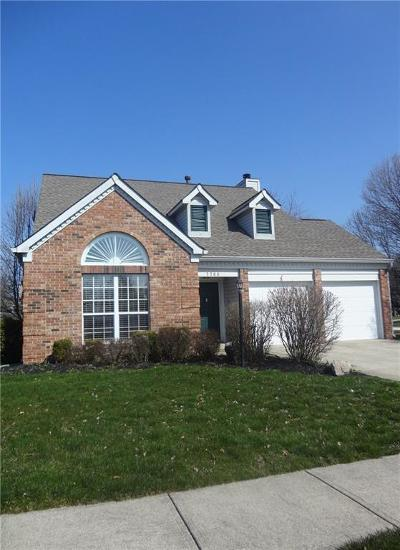 Fishers Single Family Home For Sale: 7766 Jamestown Drive