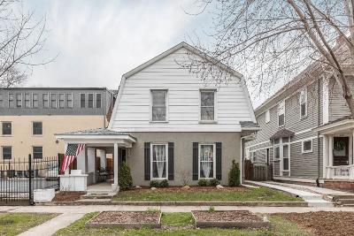 Indianapolis Single Family Home For Sale: 619 Fletcher Avenue