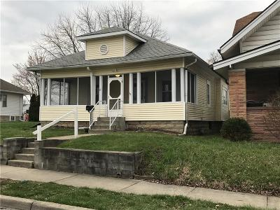 Beech Grove Single Family Home For Sale: 60 South 10th Avenue