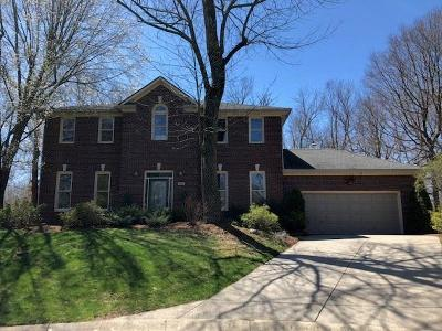 Lawrence Single Family Home For Sale: 8426 Carefree Circle