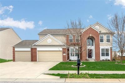 Fishers Single Family Home For Sale: 11923 Boothbay Lane