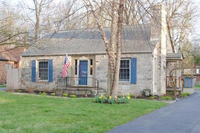 Indianapolis Single Family Home For Sale: 1023 Kessler Boulevard East Drive
