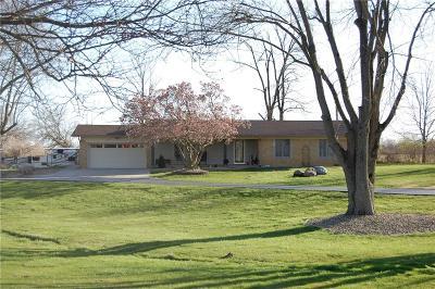 Plainfield Single Family Home For Sale: 5017 Gibbs Road