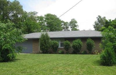 Indianapolis Single Family Home For Sale: 7011 South Meridian Street