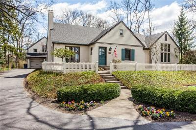 Indianapolis Single Family Home For Sale: 7845 Allisonville Road
