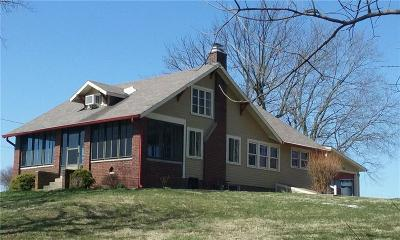 Franklin Single Family Home For Sale: 660 East State Road 144 Road