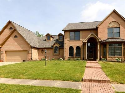 Indianapolis Single Family Home For Sale: 6132 Buck Trail Road
