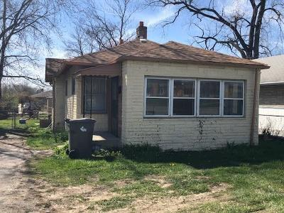 Indianapolis IN Single Family Home For Sale: $29,900