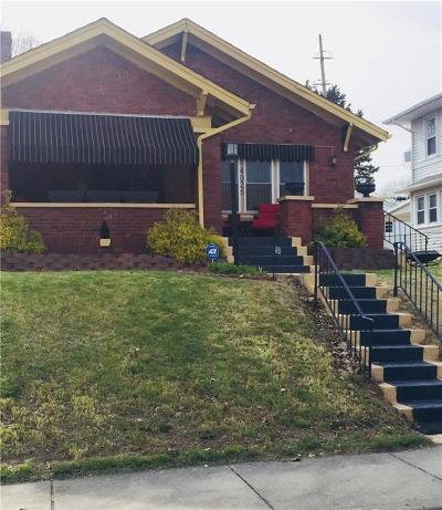 Indianapolis IN Single Family Home For Sale: $165,999