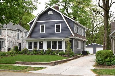 Indianapolis Single Family Home For Sale: 250 Buckingham Drive