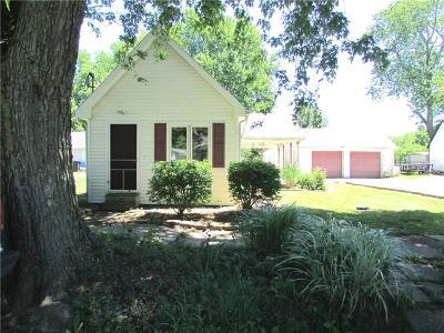 Hendricks County Single Family Home For Sale: 309 South California Street