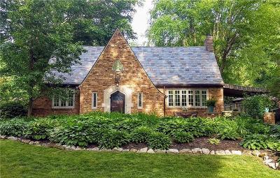 Indianapolis Single Family Home For Sale: 5639 Washington Boulevard