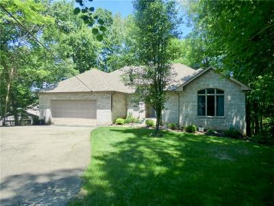 Johnson County Single Family Home For Sale: 7813 South Solitude Lane