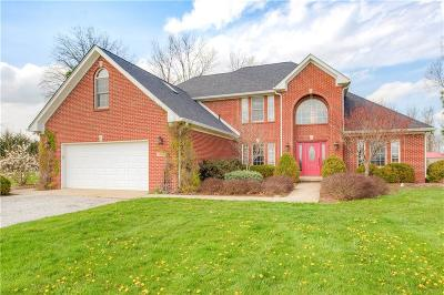 Hendricks County Single Family Home For Sale: 1730 West County Road 400 S