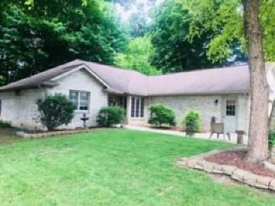 Anderson Single Family Home For Sale: 1019 Evergreen Court