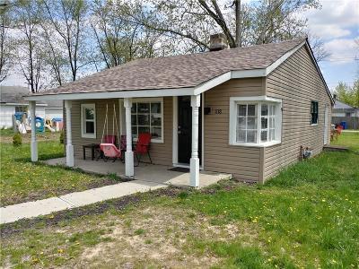Shelbyville Single Family Home For Sale: 1118 Parker Avenue