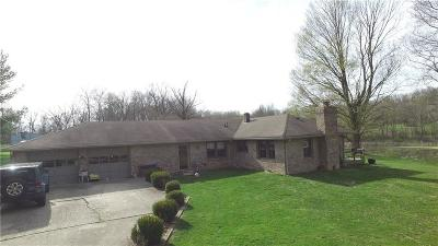Danville Single Family Home For Sale: 1654 South County Road 525 W