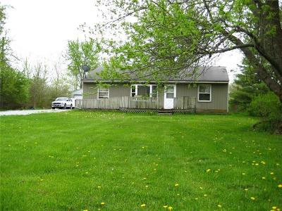 Brownsburg Single Family Home For Sale: 9175 East County Road 300 N