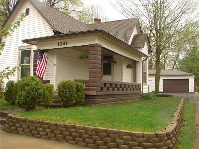 Noblesville Single Family Home For Sale: 1541 Maple Avenue