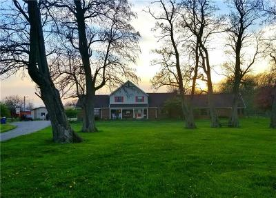 Brownsburg Single Family Home For Sale: 9820 North County Road 1025 E