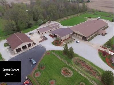 Whitestown Single Family Home For Sale: 7829 East 100 N