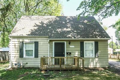 Marion County Single Family Home For Sale: 5232 East 16th Street