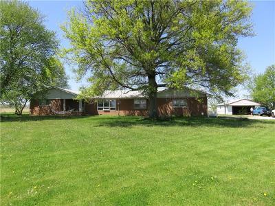 Whiteland Single Family Home For Sale: 3968 East 700 Road N