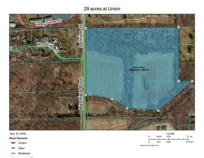 Sheridan, Westfield, Fortville, Carmel, Noblesville, Atlanta Residential Lots & Land For Sale: 16405 Westfield Boulevard