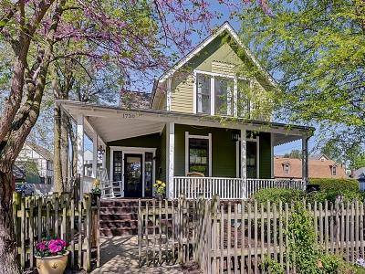 Indianapolis Single Family Home For Sale: 1730 North Talbott Street