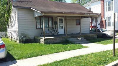 Rushville Single Family Home For Sale: 311 West 1st Street