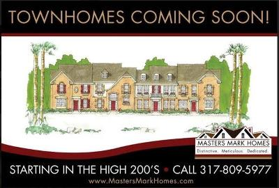 Avon Single Family Home For Sale: 7165 Governor's Row #4