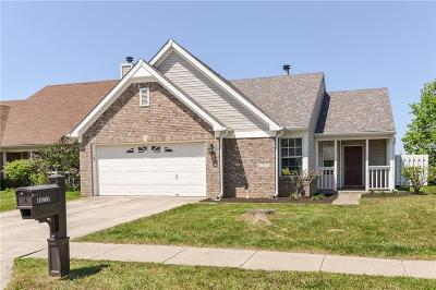 Fishers Single Family Home For Sale: 10866 Washington Bay Drive