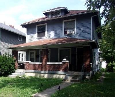 indianapolis Multi Family Home For Sale: 623 North Gladstone Avenue