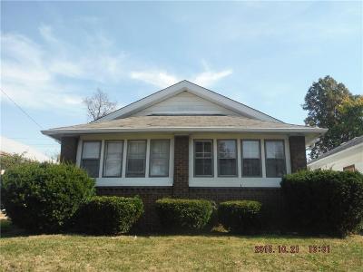 indianapolis Multi Family Home For Sale: 701 North Gladstone Avenue