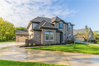 Carmel Single Family Home For Sale: 3925 Bear Creek Way