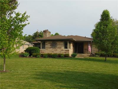 Indianapolis Single Family Home For Sale: 30 Kessler Boulevard West Drive