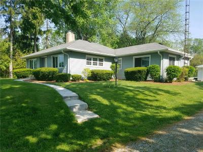 Rushville Single Family Home For Sale: 348 West Foster Heights Road
