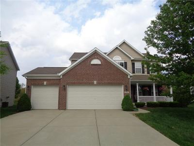 Zionsville Single Family Home For Sale: 7803 Blue Jay Way
