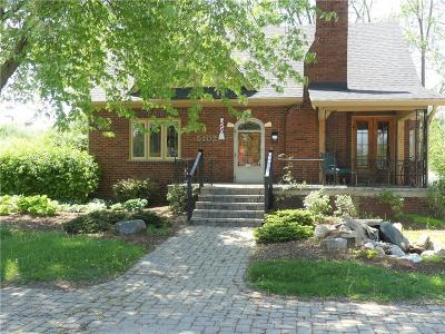 Indianapolis Single Family Home For Sale: 5102 Madison Avenue