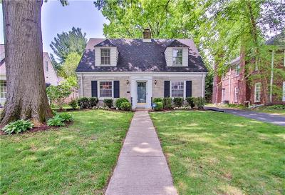 Indianapolis Single Family Home For Sale: 6928 Warwick Road