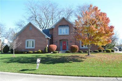 Indianapolis Single Family Home For Sale: 8735 Sargent Creek Lane