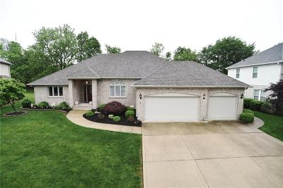 Greenwood Single Family Home For Sale: 3577 Sugar Maple Court