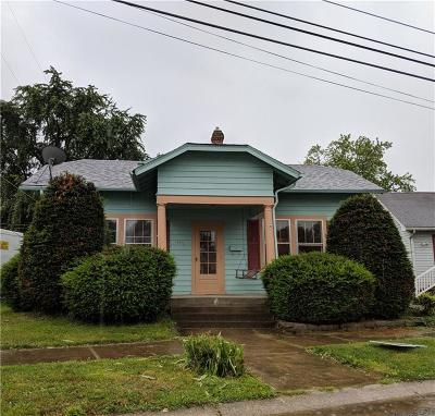 Shelbyville Single Family Home For Sale: 445 West Washington Street W