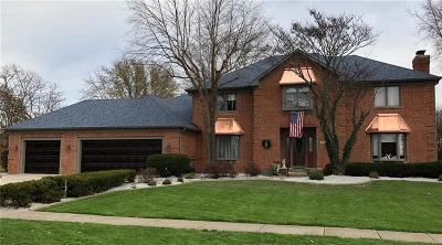 Greenwood Single Family Home For Sale: 2177 Willow Lake Drive