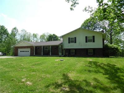 Parke County Single Family Home For Sale: 2540 North Mull
