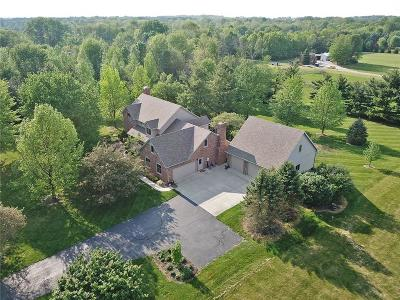 Greenwood Single Family Home For Sale: 5150 Whiteland Road