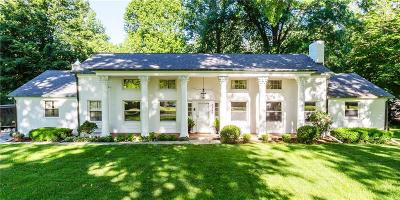 Indianapolis Single Family Home For Sale: 3560 Kessler Blvd North Drive