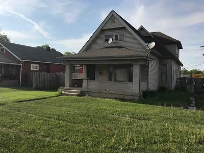 Indianapolis Single Family Home For Sale: 622 East Troy Avenue