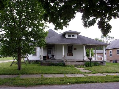 Elwood IN Single Family Home For Sale: $24,900